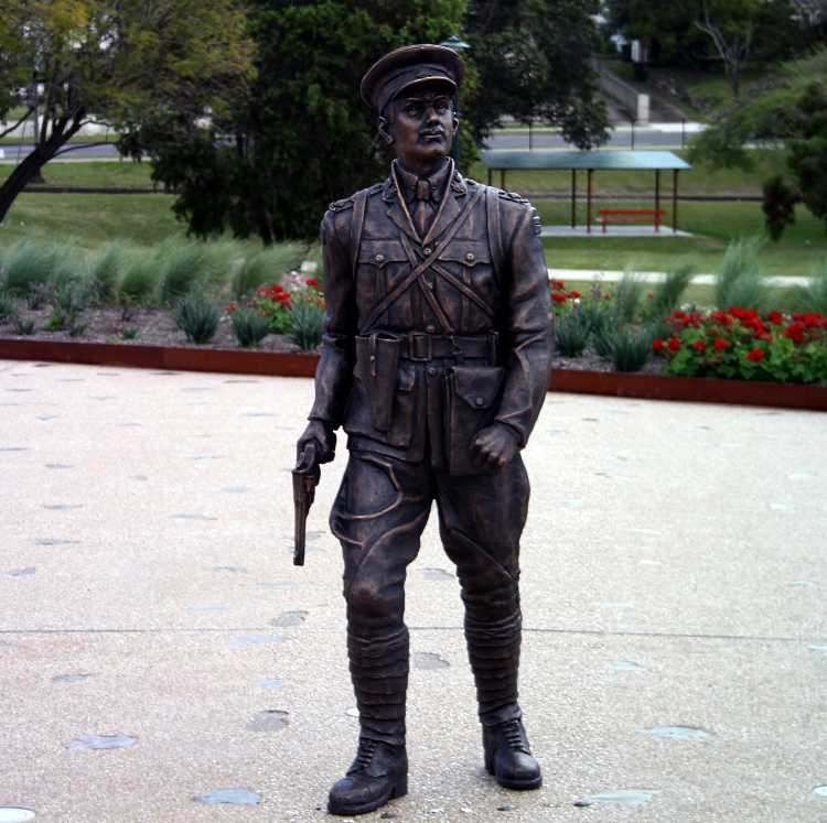 Duncan Campbell - the first Anzac ashore at Gallipoli