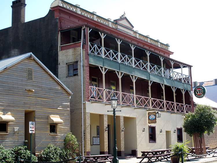 The Criterion Hotel in Marybourough's Portside Precinct